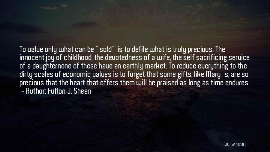 Self Service Quotes By Fulton J. Sheen