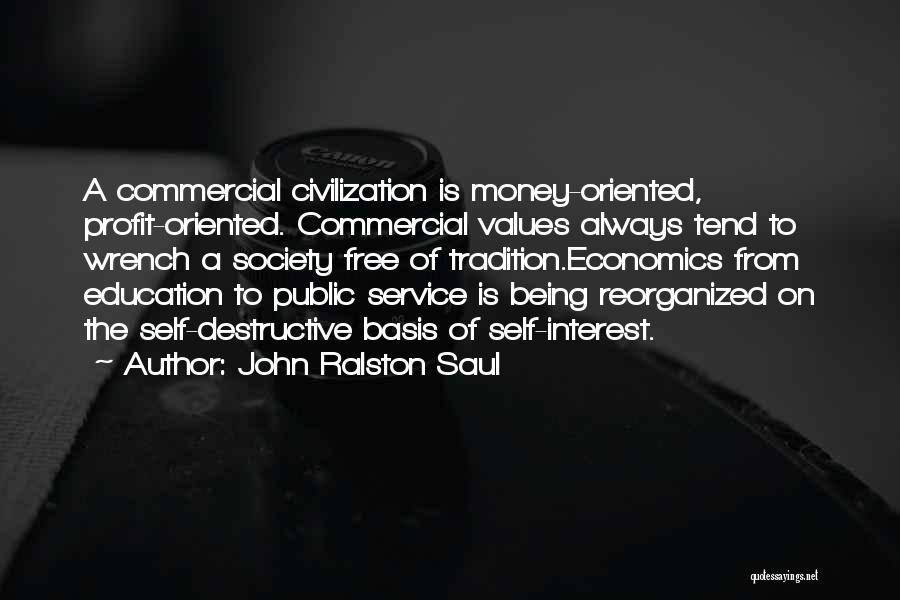 Self Service Quotes By John Ralston Saul