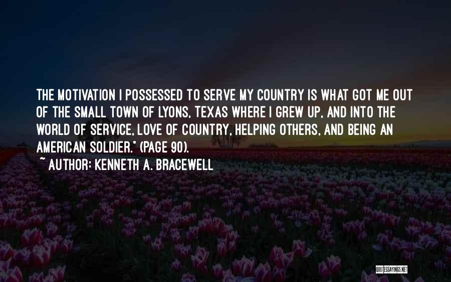 Self Service Quotes By Kenneth A. Bracewell