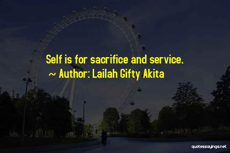 Self Service Quotes By Lailah Gifty Akita