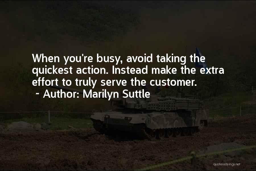 Self Service Quotes By Marilyn Suttle