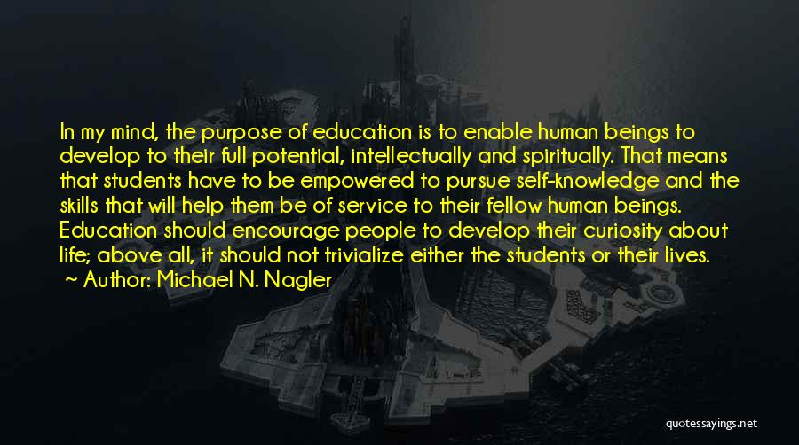 Self Service Quotes By Michael N. Nagler