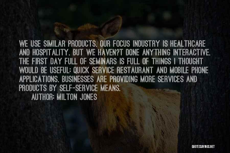 Self Service Quotes By Milton Jones