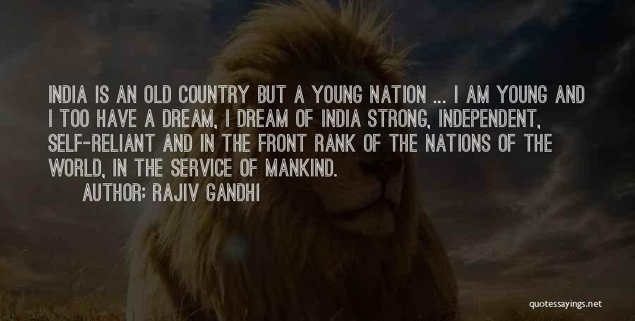 Self Service Quotes By Rajiv Gandhi