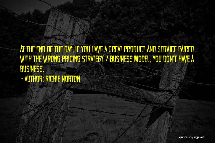 Self Service Quotes By Richie Norton