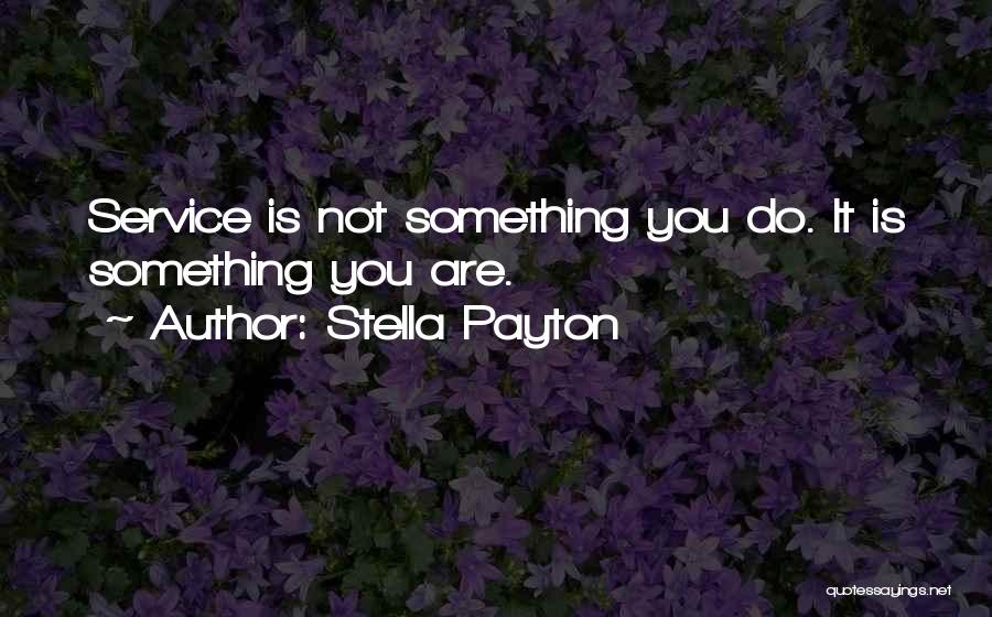 Self Service Quotes By Stella Payton