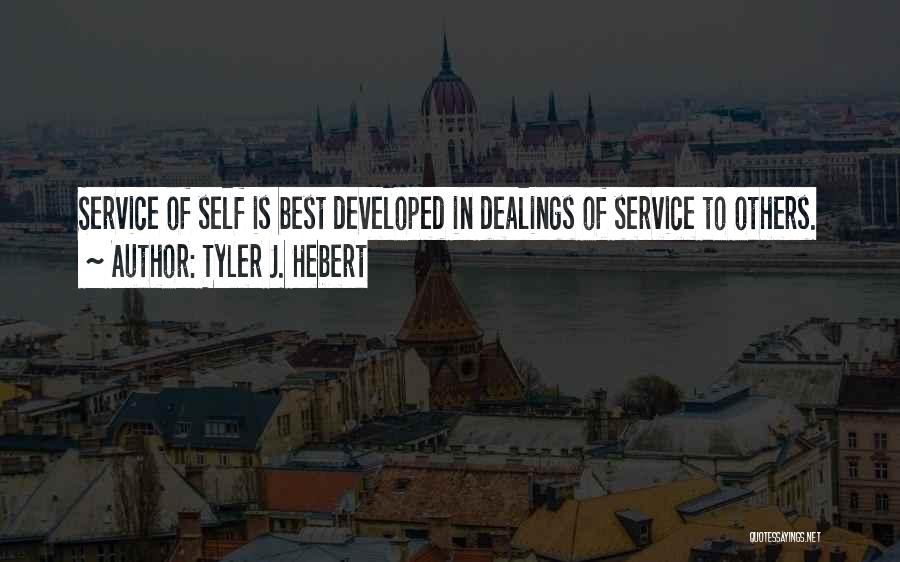 Self Service Quotes By Tyler J. Hebert