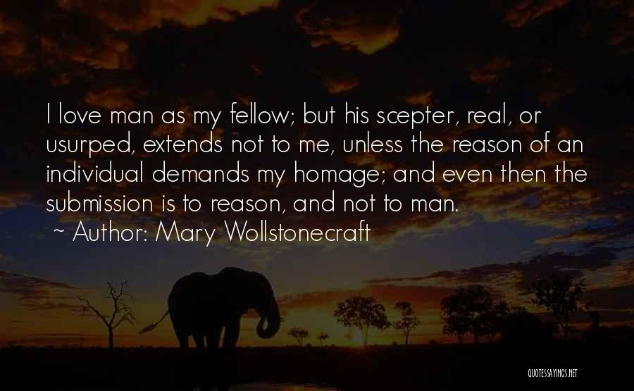 Self Superiority Quotes By Mary Wollstonecraft
