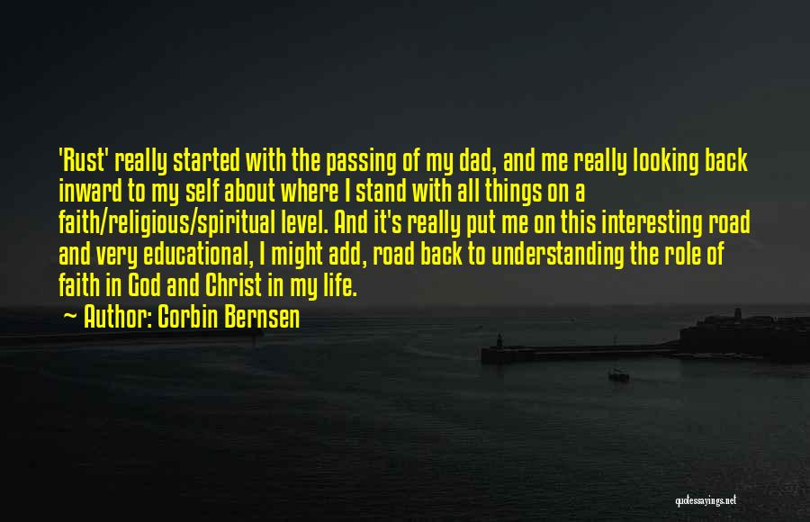 Self Understanding Quotes By Corbin Bernsen