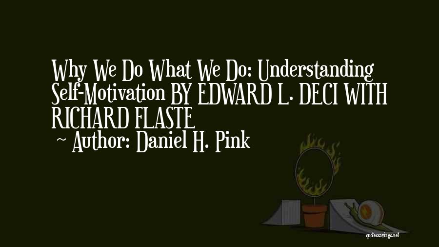Self Understanding Quotes By Daniel H. Pink