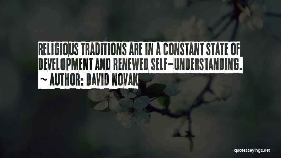 Self Understanding Quotes By David Novak