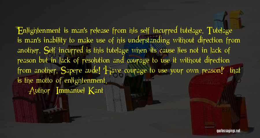 Self Understanding Quotes By Immanuel Kant