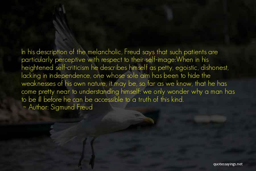 Self Understanding Quotes By Sigmund Freud