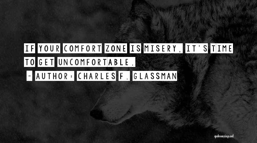 Self Worth Quotes By Charles F. Glassman