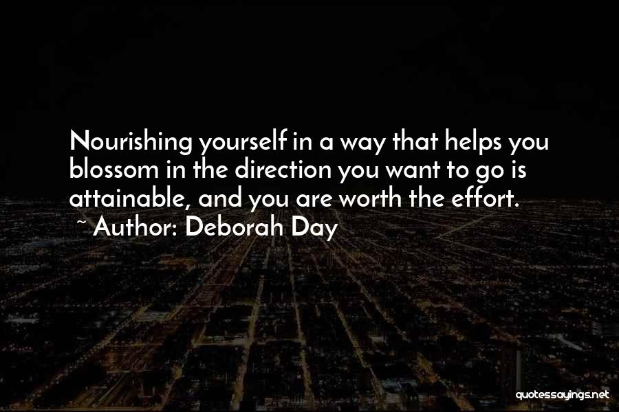 Self Worth Quotes By Deborah Day