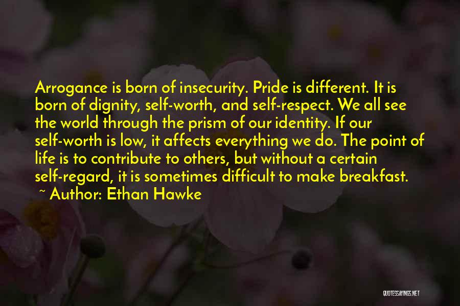 Self Worth Quotes By Ethan Hawke