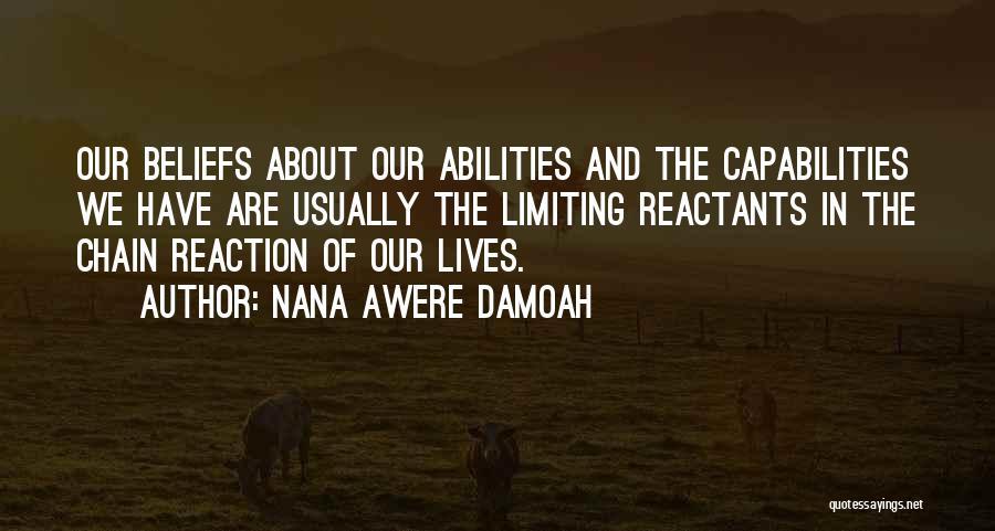 Self Worth Quotes By Nana Awere Damoah