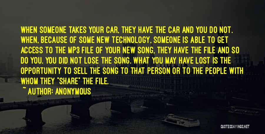 Sell Car Quotes By Anonymous