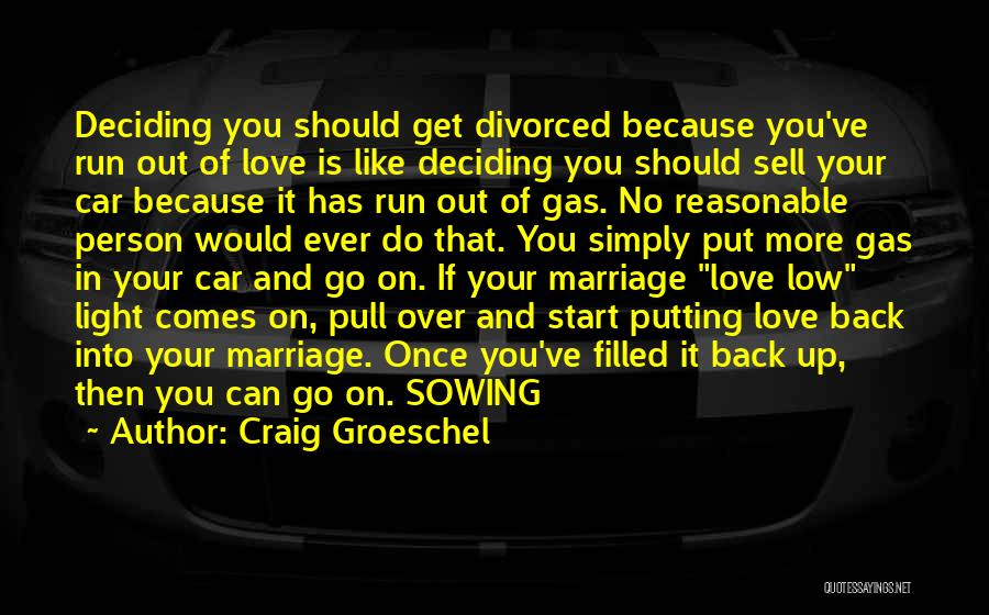 Sell Car Quotes By Craig Groeschel
