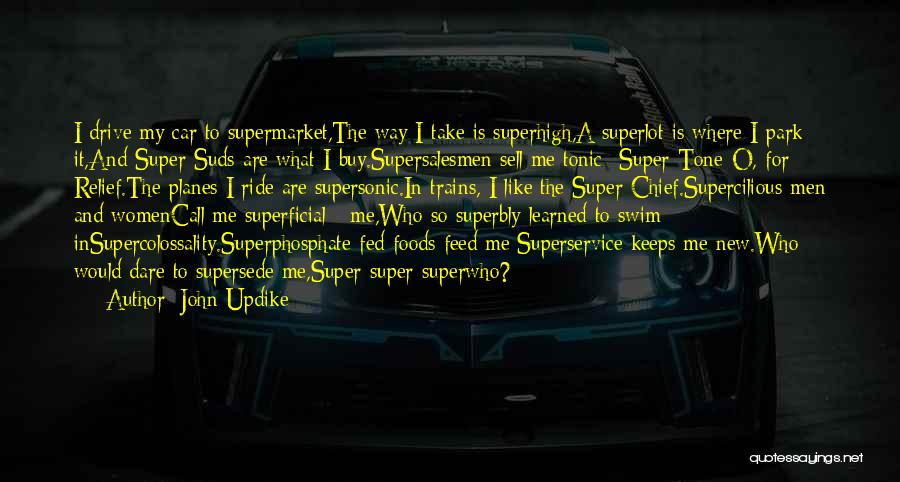 Sell Car Quotes By John Updike