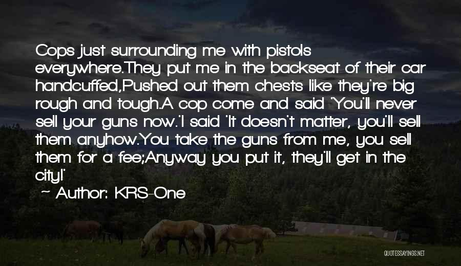 Sell Car Quotes By KRS-One