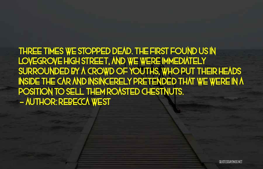 Sell Car Quotes By Rebecca West