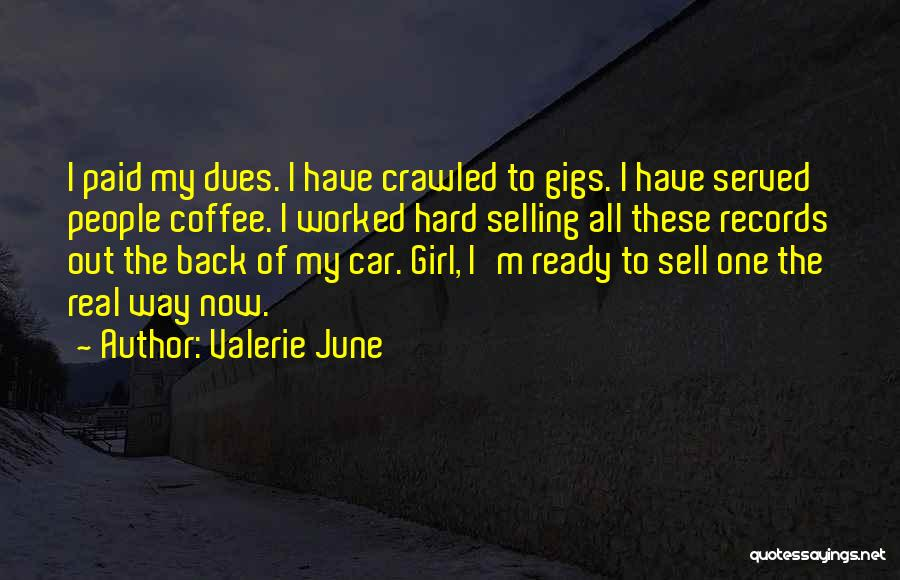 Sell Car Quotes By Valerie June