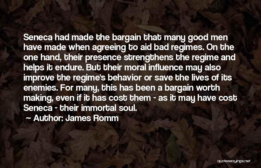 Selling Your Soul Quotes By James Romm