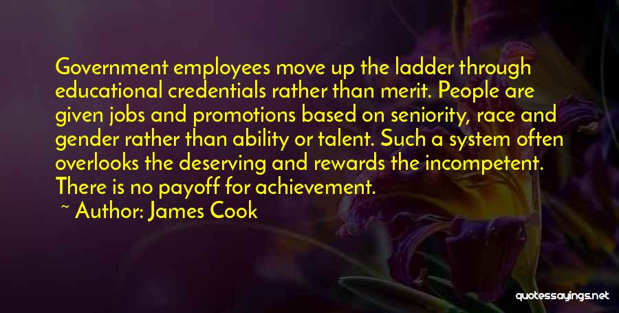 Seniority Quotes By James Cook