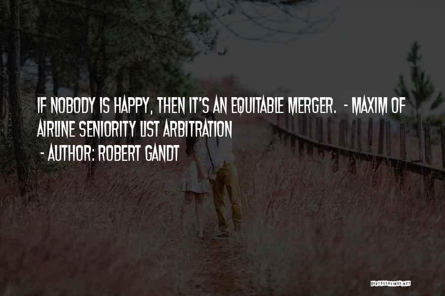 Seniority Quotes By Robert Gandt