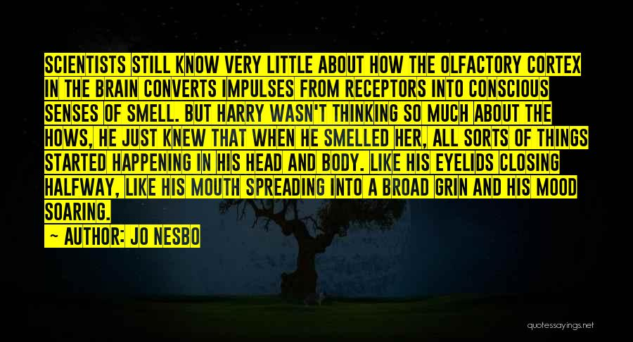 Senses Smell Quotes By Jo Nesbo