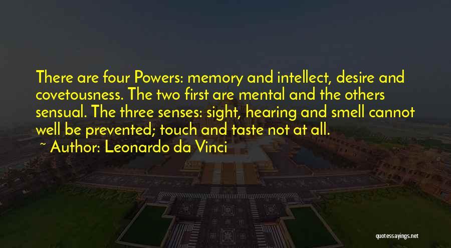 Senses Smell Quotes By Leonardo Da Vinci