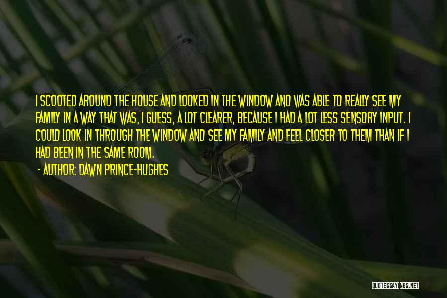 Sensory Room Quotes By Dawn Prince-Hughes