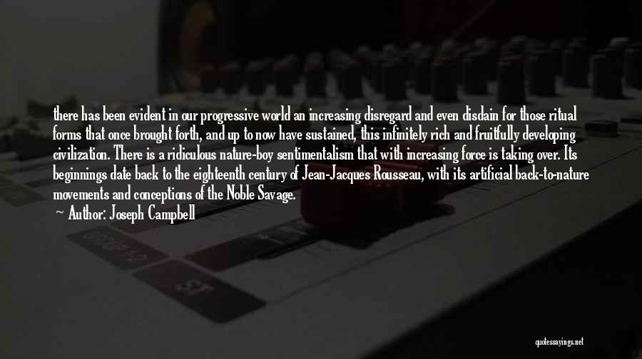 Sentimentalism Quotes By Joseph Campbell