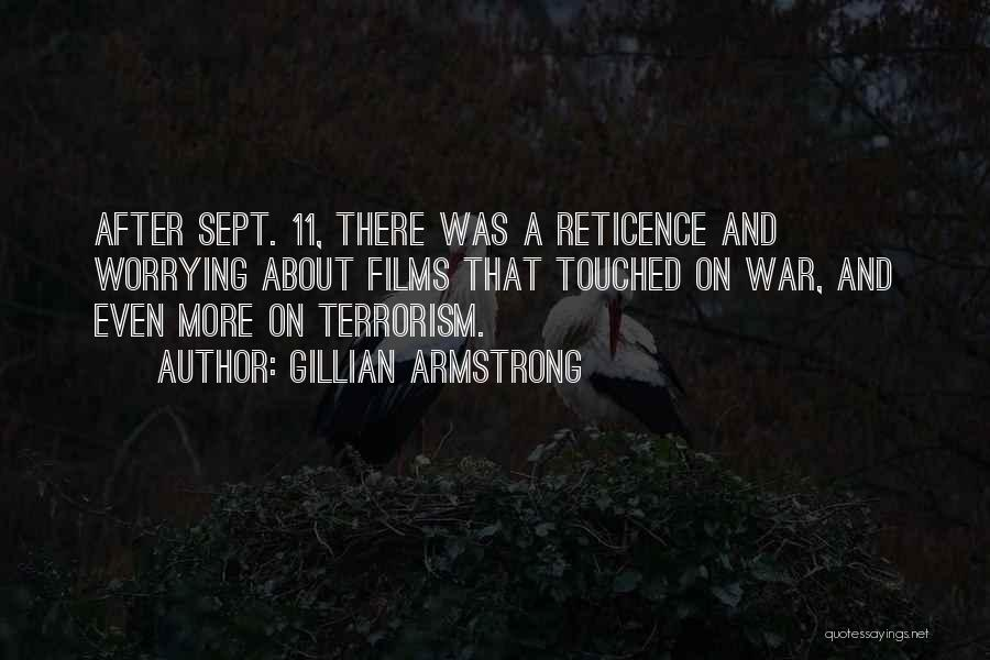 Sept. 9 11 Quotes By Gillian Armstrong