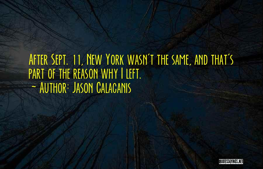 Sept. 9 11 Quotes By Jason Calacanis