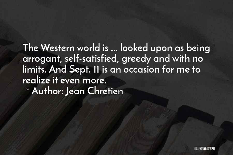 Sept. 9 11 Quotes By Jean Chretien