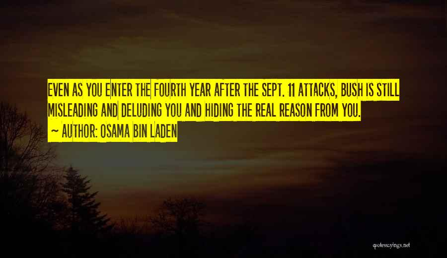 Sept. 9 11 Quotes By Osama Bin Laden