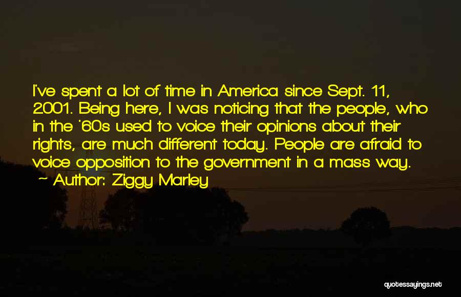 Sept. 9 11 Quotes By Ziggy Marley