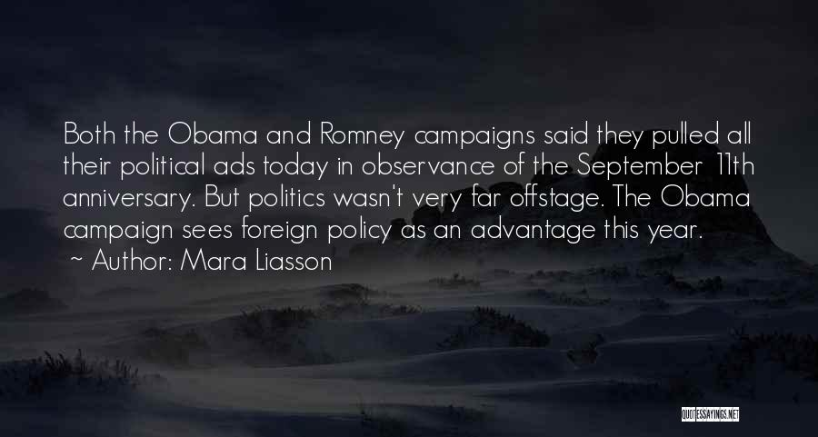 September 11th Anniversary Quotes By Mara Liasson