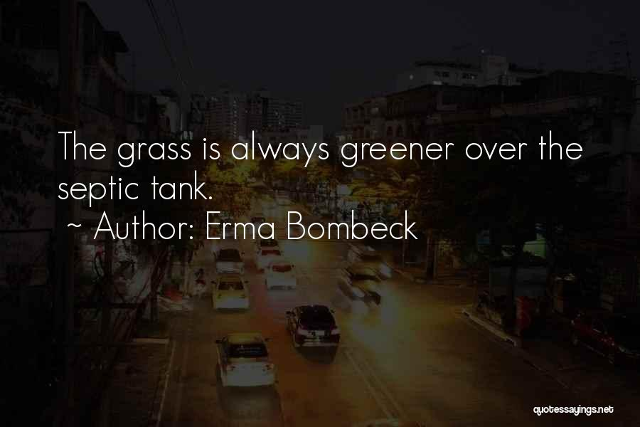 Septic Quotes By Erma Bombeck