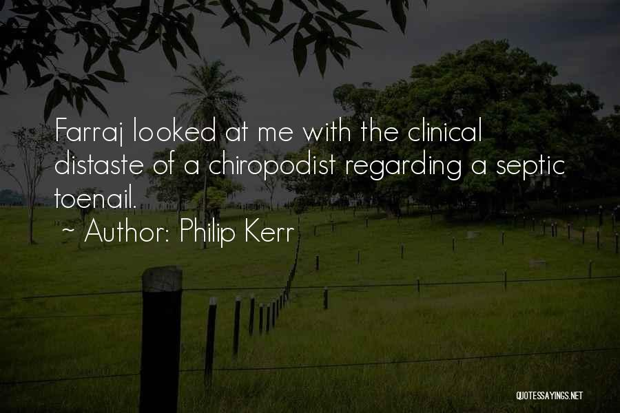Septic Quotes By Philip Kerr