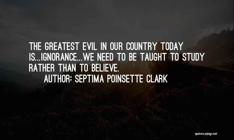 Septima Poinsette Clark Quotes 1957484