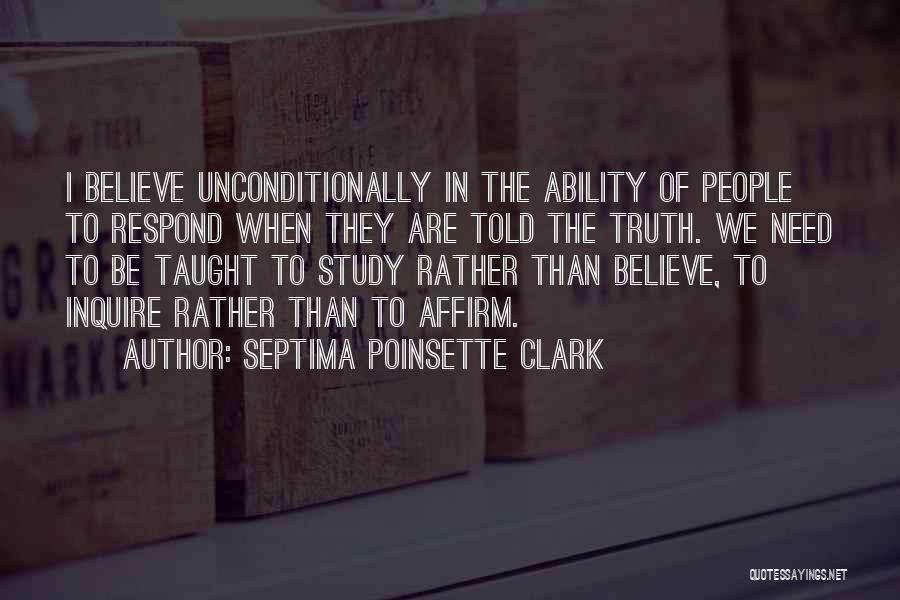 Septima Poinsette Clark Quotes 898970