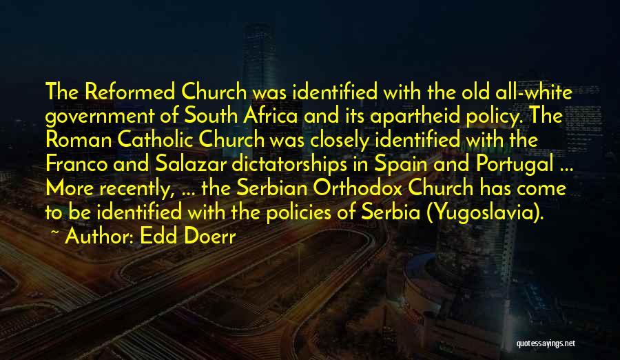 Serbian Quotes By Edd Doerr