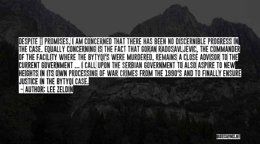 Serbian Quotes By Lee Zeldin