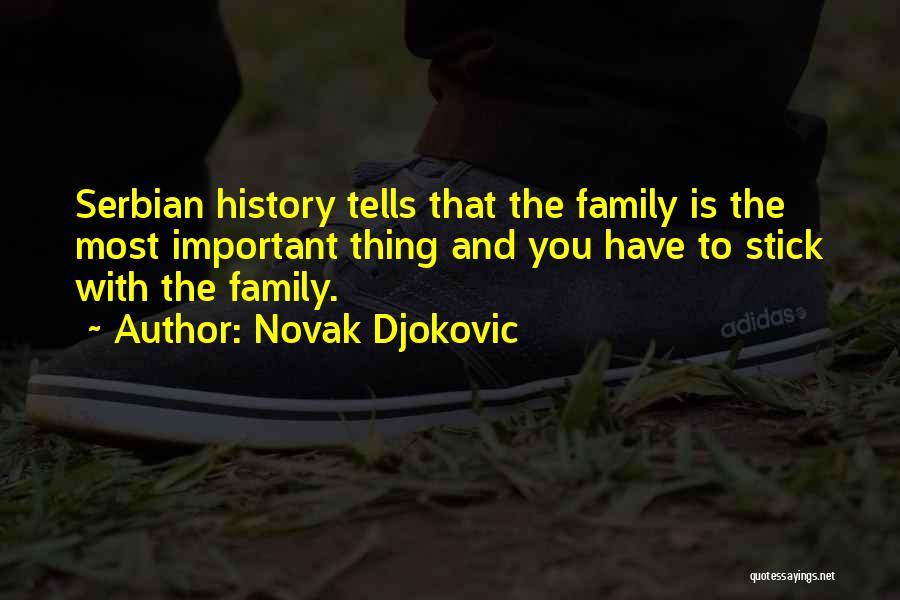 Serbian Quotes By Novak Djokovic