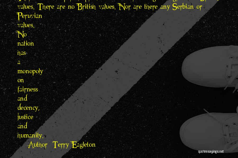 Serbian Quotes By Terry Eagleton