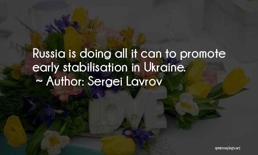 Sergei Lavrov Quotes 1040875