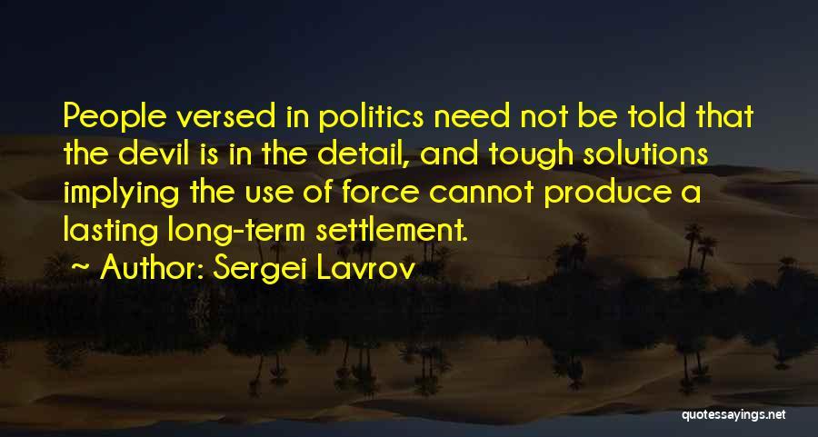Sergei Lavrov Quotes 1065546